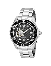 Invicta Men's 'Sea Base' Automatic Stainless Steel Casual Watch, Color:Silver-Toned (Model: 17920)