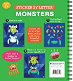 Brain Games - Sticker by Letter: Monsters