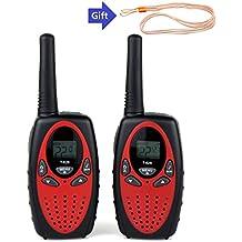 Walkie Talkies Two Way Radios for kids Wireless Interphone 22 Channel 2 Way Radio up to 3 Miles Handheld