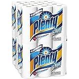 Plenty Ultra Premium Full Sheet Paper Towels, White, 24 Total Rolls