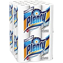 Plenty Ultra Premium Full Sheet Paper Towels, White, 24 Total Rolls