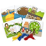Book of Mormon Children's Lacing Cards - For Kids Primary Age and Younger