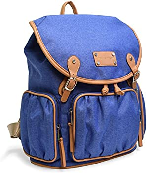 Adrienne Vittadini Two-Tone Nylon Collection Backpack