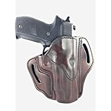 1791 GunLeather Holster for Sig Sauer P226, P220, P229 Right Hand OWB Leather Gun Holster for belts also fits 1911 with Rails, HK VP9, Beretta 92FS - Classic Brown, Black and Signature Brown (BH2.3)