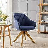 Art Leon Mid-Century Modern Swivel Accent Chair