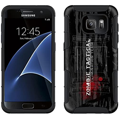Samsung Galaxy S7 Armor Hybrid Case Zombie Tactical Elimination Team 2 Piece Case with Holster for Samsung Galaxy S7 Sales