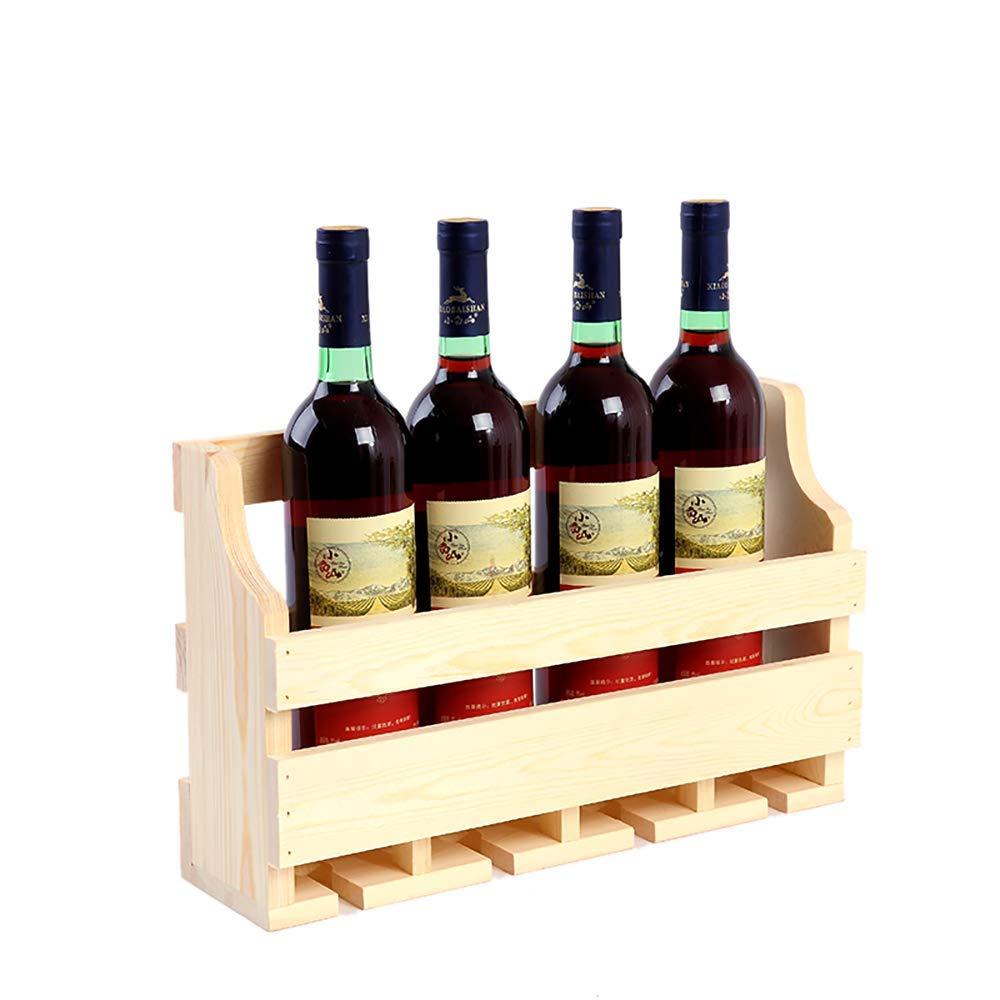 40x11.5x25cm Red Wine Shelf Wall Mounted Wine Rack,Stave Hanging Wine Rack Stave Wooden Wall Wine Bottle Holder & Stemware Display Rack(Varnish color),40X11.5X25cm (Size   60x11.5x25cm)