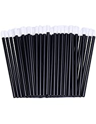 200pcs Disposable Lip Brush Lip Gloss Applicators Lipstick Wands Tool Kits (200)