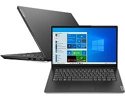 "Notebook Lenovo V14 i5-1135G7 8GB 256SSD Intel Iris Xe Graphics Win 10 Home 14"" FHD 82NM0009BR Preto"