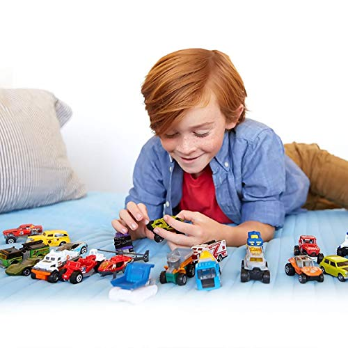 TOPTOY Gifts for 3-6 Year Old Boys Girls, Pull Back Car Toys Assorted Construction Vehicles Toys Set Party Favor Toys for 3-6 Year Old Kids Boys CD20