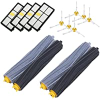 800 and 900 Series Replenishment Kit For iRobot Roomba 880 860 870 960 980,14PCS Roomba Accessories with 4pcs Hepa filters,6pcs Side Brushes, 2 Pair Debris Extractors by isinlive