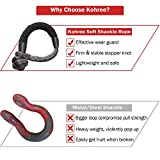 Kohree Synthetic Soft Shackle,7/16 Inch X 20 Inch