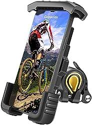 Bike Phone Mount, Gupacido Phone Holder for Bike Motorcycle Anti Shake Bike Phone Holder Universal Bicycle Cel