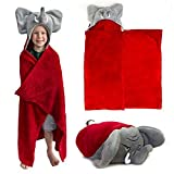 Comfy Critters Stuffed Animal Blanket - College