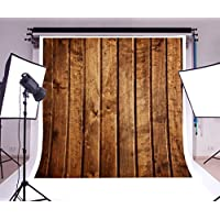 Laeacco Vinyl Anceient 10x10ft Yellow Wood Plank Background Photography Backdrop Wedding Party Cemeony Shoot Photo Studio Props