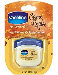Vaseline Lip Therapy, Creme Brulee, 0.25 Ounce (Pack of 1)