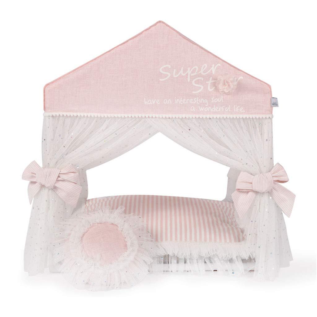 Zaino Tenda per animali domestici rimovibile e lavabile per animali domestici Four Seasons Universal - rosa Blu -47,5x40,5x57cm cani (colore   rosa)