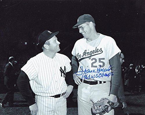 Autographed Frank Howard Photo - 1963 WS CHAMPS W MANTLE 8x10 - Autographed MLB Photos