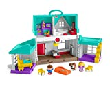 Fisher-Price Big Helpers Home, Toddler Activity Toy with Figures, Sounds, Songs, Lights and Phrases About Helping Others