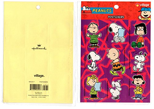 SNOOPY Stickers Decal PEANUTS Charlie brown VILLAGE
