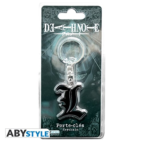 Abystyle Abystyle Death Note Note cl Porte Death Llavero qwq8FxBf