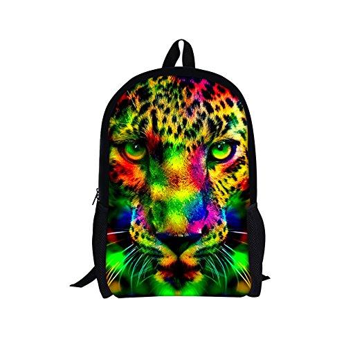 TOREEP Galaxy Print Casual School Backpack Outdoor Travel Bag(Big) Fendi Spy White Bag