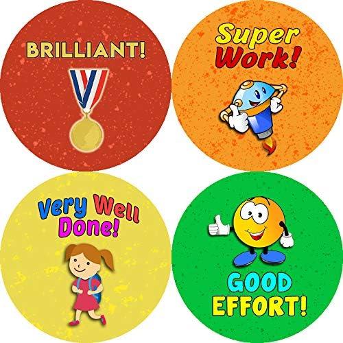 - Inspiring /& Encouraging Teacher Class Incentive Rewards Premium Gift Set for Children Adults Teens 10-Sheet Creanoso Motivational Puns Praise Rewards Stickers