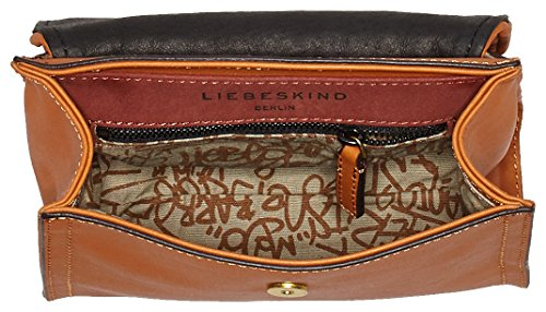 Liebeskind Berlin - Glendale Itemgl, Bolsos bandolera Mujer, Braun (Cognac), 6x23x19 cm (W x H D)