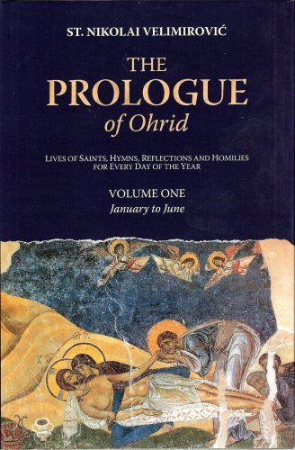 By St. Nikolai Velimirovic The Prologue of Ohrid: Lives of Saints, Hymns, Reflections and Homilies for Every Day of the Year, V (2nd Second Edition) [Hardcover] ebook