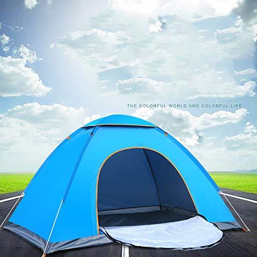 はねかける判読できない許されるFUHAO ワンタッチテント 2-3人用 キャンプテント サンシェードテント キャンプタープ ポップアップ メッシュスクリーン付き 高通気性 防水 軽量 紫外線カット 折りたたみ 収納ケース 登山 日本説明書付き