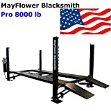 Mayflower Blacksmith Four Post Lift car Lift Storage Service 8000 lb Pro 8000
