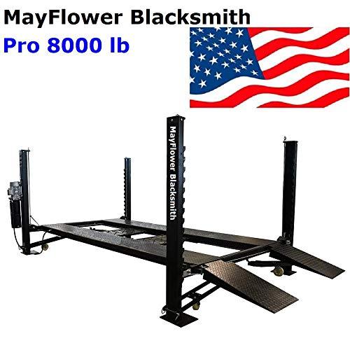 Mayflower Blacksmith Four Post Lift car Lift Storage Service 8000