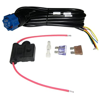 amazon com lowrance power cable f hds series marine boating rh amazon com