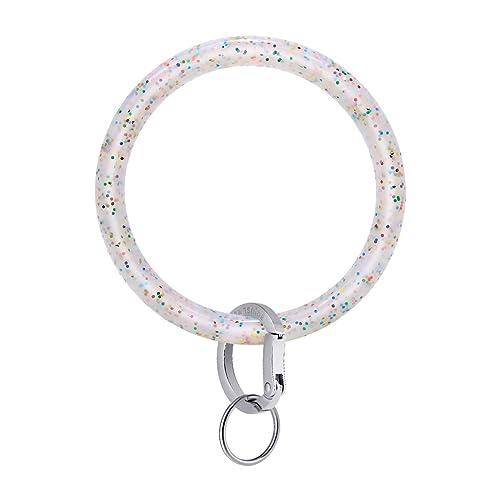 Townshine - Llavero de silicona con anillas redondas: Amazon ...