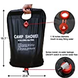 Solar-Camp-Shower-Bag-DBWOR-Solar-Heated-Portable-Light-Weight-for-Camping-Hiking-Backpacking-ther-Outdoor-Events-Climbing-Camping-Shower-5-Gallon20-Litter