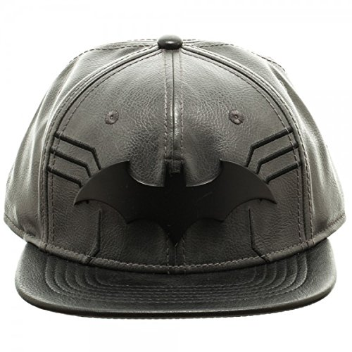 [DC Comics Batman Suit Up Black Snapback Baseball Cap] (Baseball Bat Man Costume)