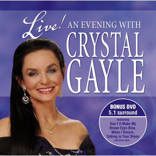Live! An Evening with Crystal Gayle (CD and DVD) by Madacy Records