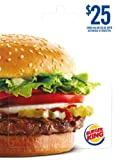Burger King $25 offers