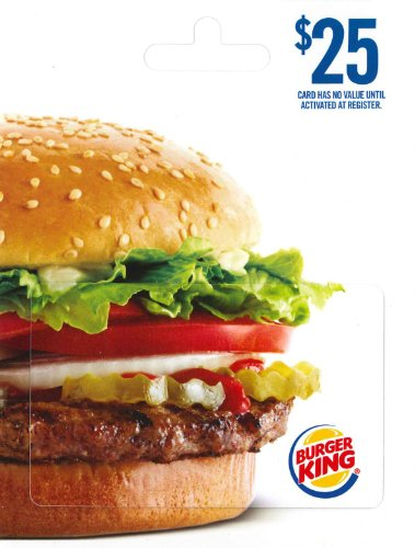Burger King Gift Card - front