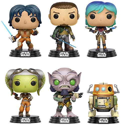 Funko Pop! Star Wars: Rebels Collectible Vinyl Figures, 3.75