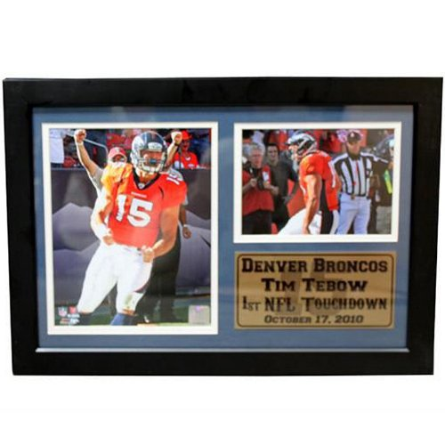 sale retailer 8108d 89380 Amazon.com : NFL Tim Tebow Photo Stat Frame, 12x18 : Sports ...