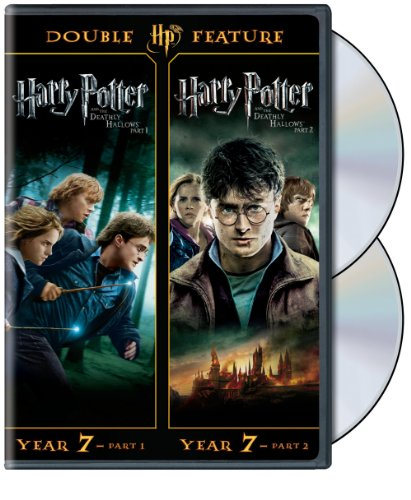 Harry Potter Double Feature: The Deathly Hallows Part 1 & 2 (Cast Of Harry Potter Deathly Hallows 2)