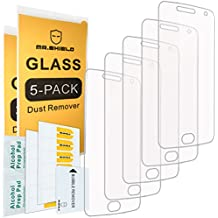 [5-PACK]- Mr Shield For Motorola Moto G5 Plus / Moto G Plus (5th Generation) [Tempered Glass] Screen Protector [0.3mm Ultra Thin 9H Hardness 2.5D Round Edge] with Lifetime Replacement Warranty