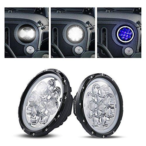 Auxbeam Round Headlight Driving Atmosphere