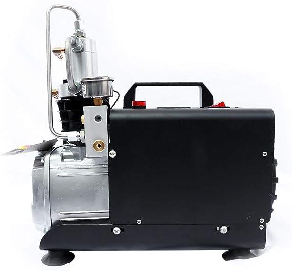 300BAR High Pressure Air compressor Pump Electric Paintball PCP Refill 1800W