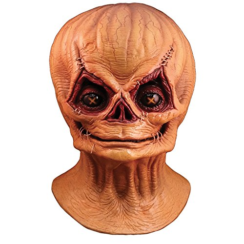 Trick Or Treat Mask (Trick or Treat Studios Men's Trick R Treat-Sam Unmasked Full Head Mask, Multi, One Size)