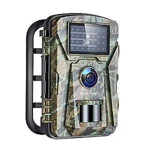 Flashandfocus.com 51s-4aIKj5L._SS300_ APEMAN Trail Camera 16MP 1080P No-Glow Infrared Night Vision Hunting Camera for Wildlife Monitoring, Garden, Home…