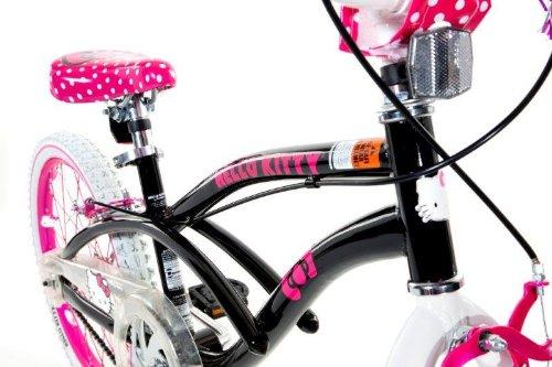 Hello Kitty 8108 60tj Girls Bike 20 Inch Black Pink