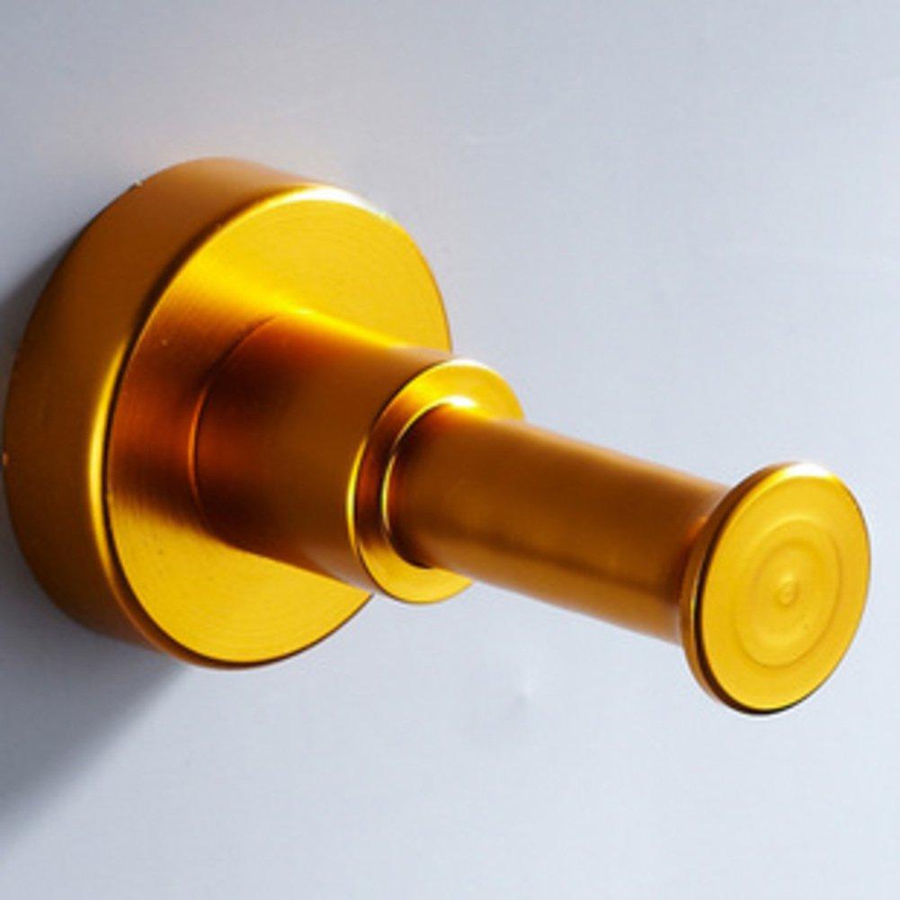 Space aluminum pegs/Bathroom hook/Kitchen coat hook/row hook-D lovely