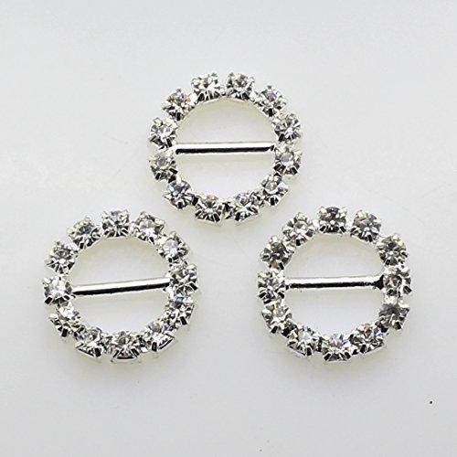 Silver shaped Rhinestone Wedding Invitation product image